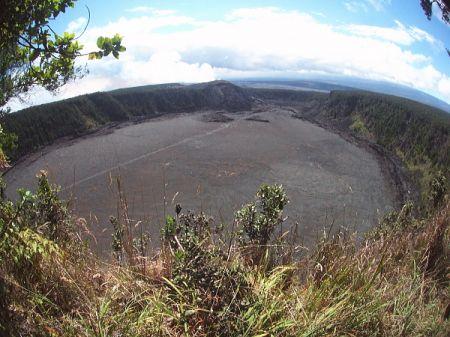 火山のフライパン