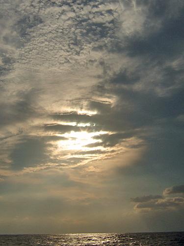 手のひらの雲
