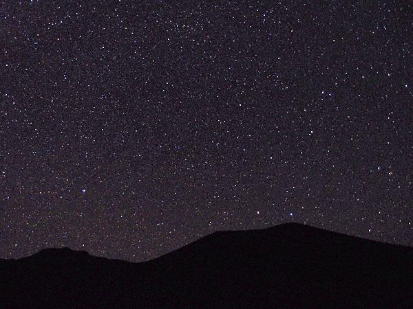 4200mの星空