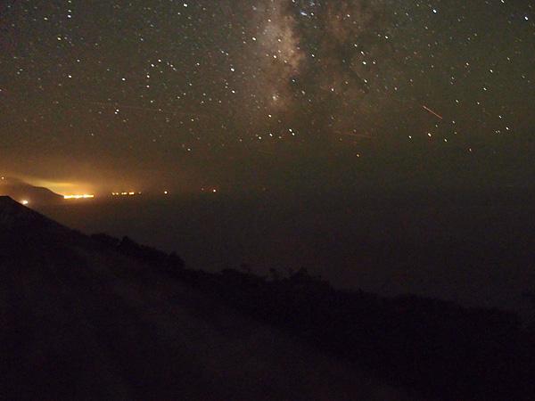 利島の星空